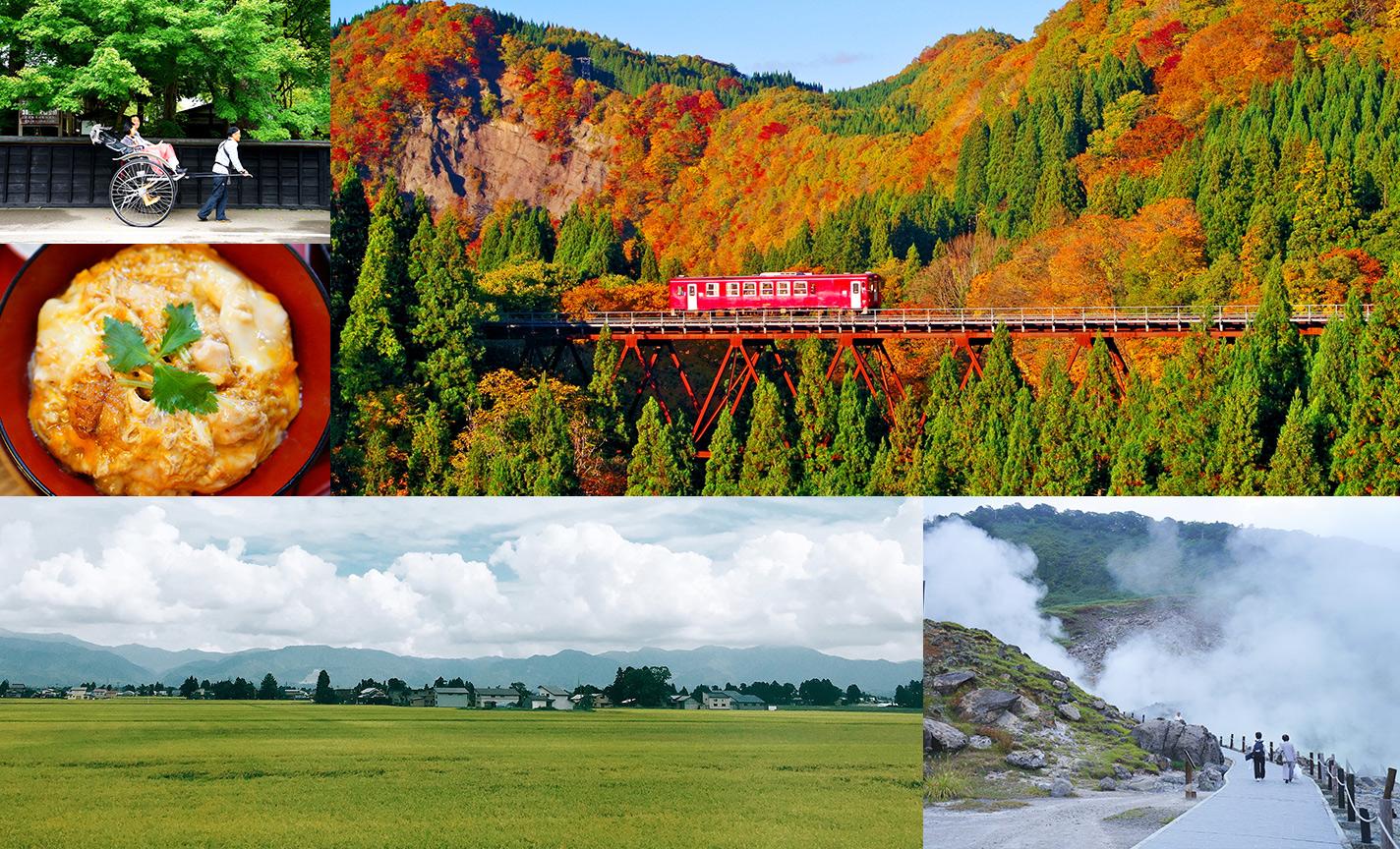 初秋鐵道溫泉輕旅行!尋找屬於我的休日秋田風景