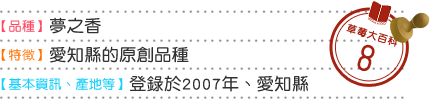 草莓大百科8 品種 夢之香 特徴 愛知縣的原創品種 基本情報 産地等 登錄於2007年、愛知縣